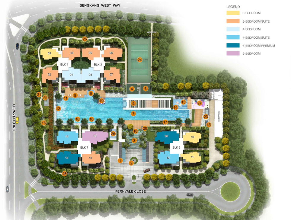 Lush Acres Site Plan